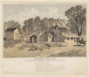 Howard's Inn, 1776.