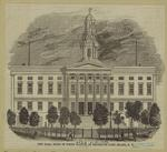 City Hall, built of white marble, at Brooklyn, Long Island, N.Y.
