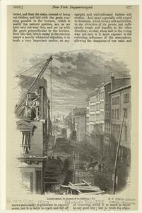Liberty-street, in process of re-building, 1852.