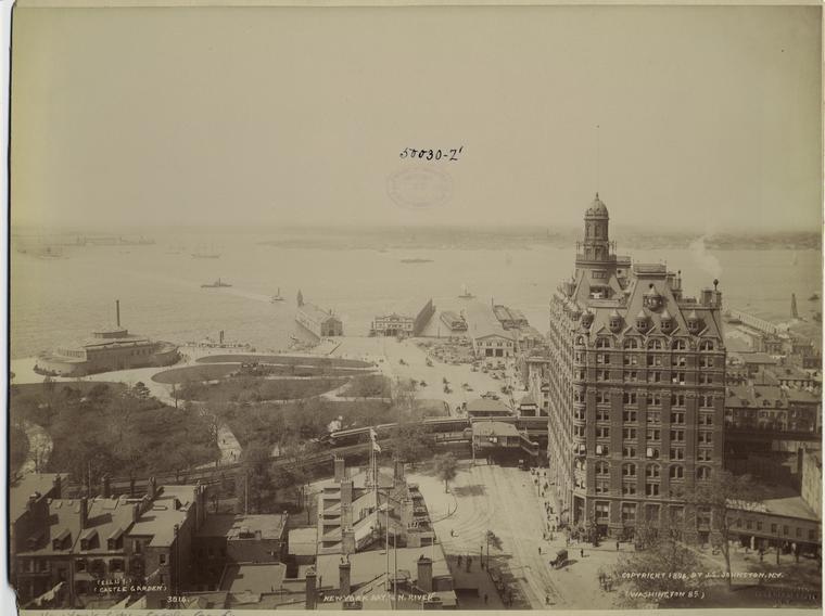 New York Bay, & N. River.