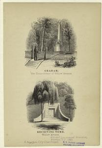 Graham : the tour -- corner of Willow Avenue ; Receiving Tomb -- Willow Avenue.