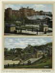 The The menagerie, Central Park ;The terraces, Central Park.