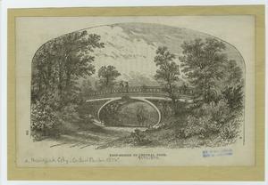 Foot-bridge in Central Park.