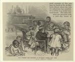 Day nursery for children in Mulberry Street, New York.