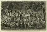 """The children's picnic excursion--organized by the New York """"Times."""""""