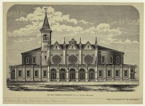 The new Tabernacle, Brooklyn, N.Y. -- L.B. Valk, architect.