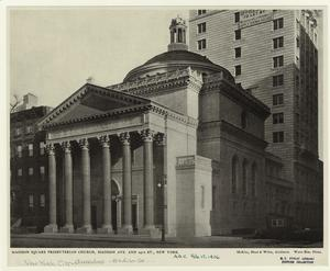 Madison Square Presbyterian Church, Madison Ave. and 24th St., New York.