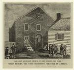 The First Methodist Church, in John Street, New York