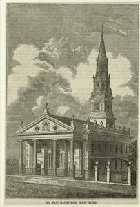 St. Paul's Church, New York.