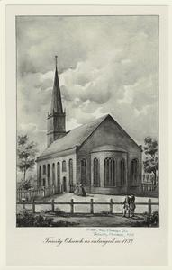 Trinity Church as enlarged in 1737.