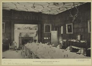 The dining-room : Century club-house, New York, N.Y.