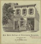 New York College of Veterinary Surgeons, (incorporated 1857,) No. 179 Lexington Avenue