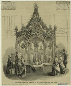 Phalon's bower of perfume, in the Crystal Palace, New York.