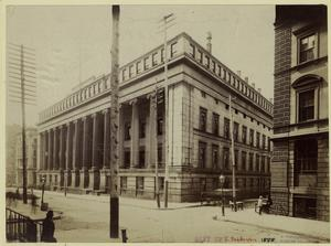 [United States Custom House, New York City.]