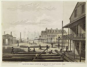 Jackson ferry, foot of Jackson St. East River -- 1861.