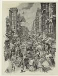 [Street scene on East Sid