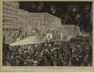 New York City -- the great Dem... Digital ID: 801479. New York Public Library