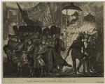 Graphic America -- Tammany Democratic procession in New York.