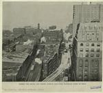 Where the Sixth and Ninth Avenue elevated railroad lines diverge.