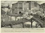 The elevated railways of New York.