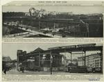Cathedral Heights, Morningside Heights and Morningside Park ; Manhattan elevated railroad