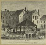 Foot of Wall Street and ferry-house, 1746