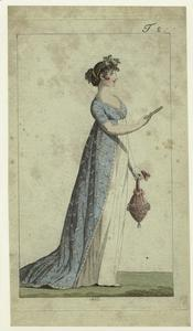 [Woman holding a purse in one ... Digital ID: 801703. New York Public Library