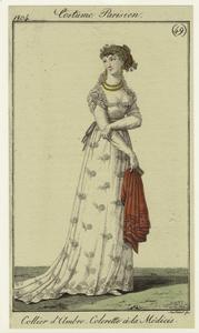 Collier d'Ambre, Colerette à la Médicis.