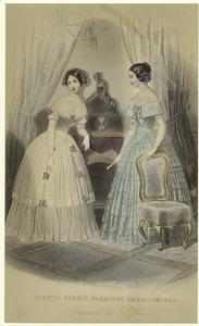 Godey's Paris fashions Americanised.