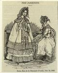 The Fashions : Paris, Rue Chausseé D'Antin, Oct. 19, 1842.