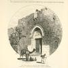 The Zion Gate, or Gate of the Prophet David, exterior view. In the foreground, outside the gate, is a group of Bethlehemites.