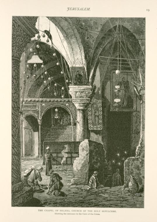 This is What Church of the Holy Sepulchre Looked Like  in 1881