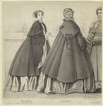 [Women dressed in capes a