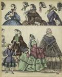[Women, a girl and bonnet