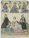 The Newest Fashions For June, 1859.