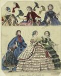 The Newest Fashions For December 1859.