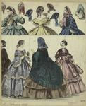 [Women in long dresses an