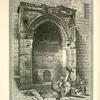 Fountain of the Gate of the Chain - Bab es Silsileh, supplied with water from Solomon's Pools