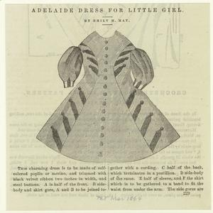 Adelaide dress for little girl / by Emily H. May.