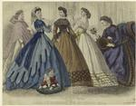 Godey's fashions for Dece