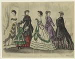 Godey's fashions for Febr