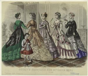 Godey's fashions for October 1868.