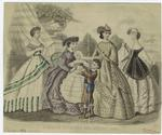 Godey's fashions for Augu