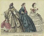The Newest Fashions For January 1860.