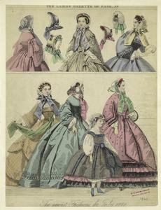 The newest fashions for July, 1860.