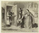 Elderly Man Entering A Room, 1860s.