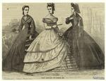 Paris Fashions For March, 1864.