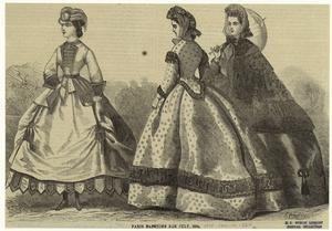 Paris fashions for July, 1864.