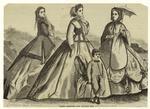 Paris Fashions For August, 1865.