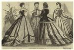 Paris Fashions For December, 1865.